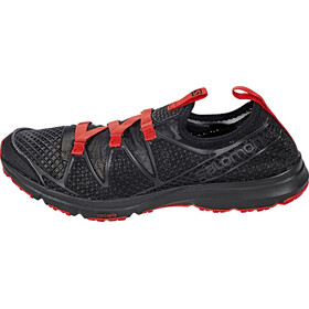 Salomon Crossamphibian Shoes Men black/black/radiant red